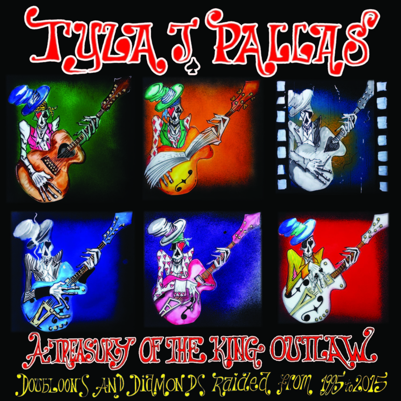 Tyla J. Pallas The Chard Urton Blues Treasury Vol 3