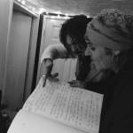 Tyla & Spike in the studio March 2016